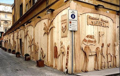 Arredamento Negozi In Legno : Arredamento il laboratorio di arte bottega